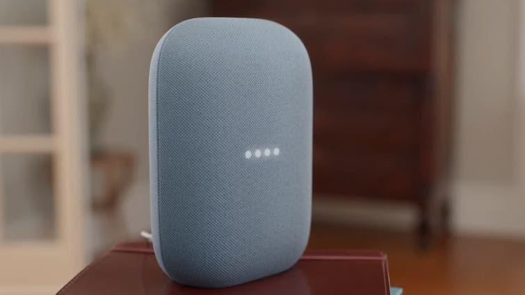 nest audio smart speaker with google assistant