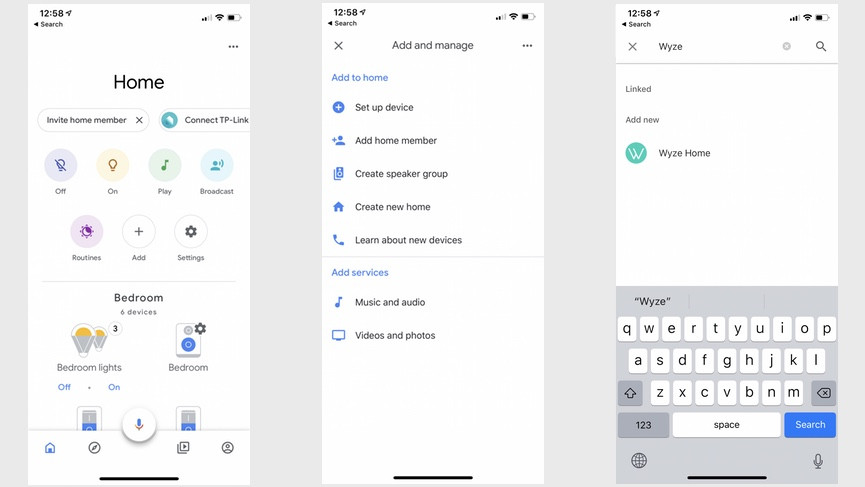 How to connect the Wyze Cam and bulbs to Alexa and Google Assistant