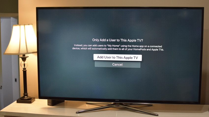 How to set up multi-user accounts on Apple TV