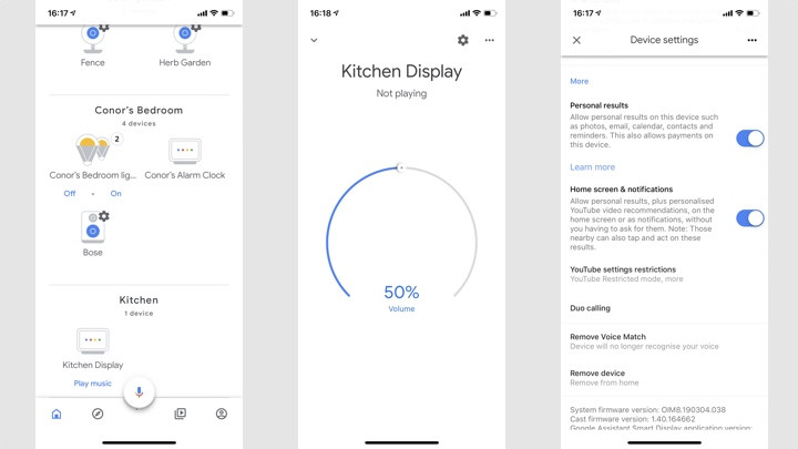activate the Google Personal Results smart speaker