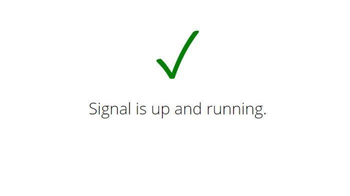Comment savoir si Signal est en panne