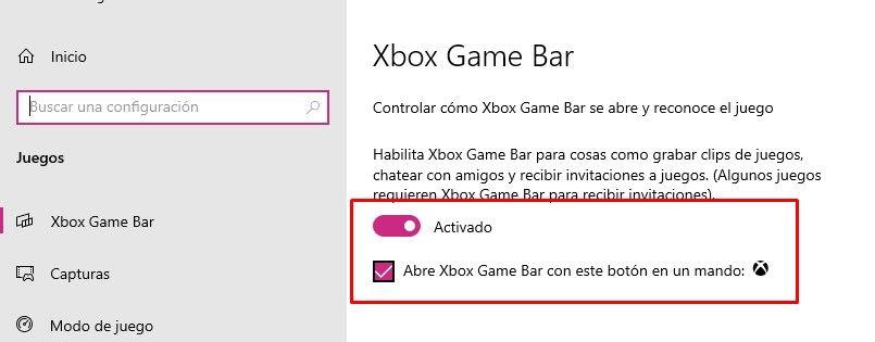 Turn Xbox Game Bar on or off in Windows 10
