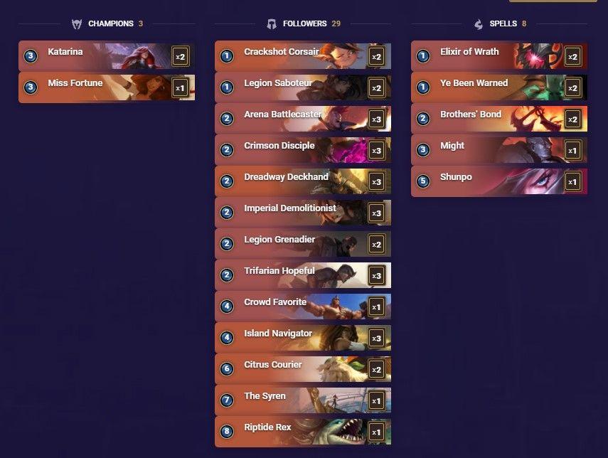 Legends of Runeterra Economy Decks