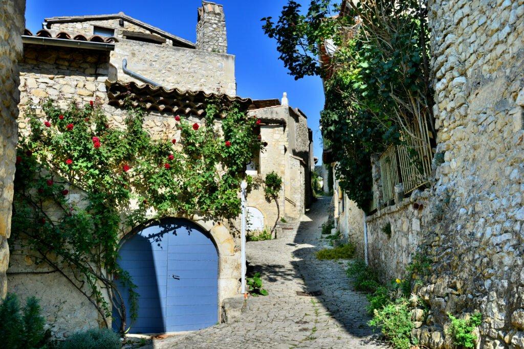 Mirmande pueblos más bellos de Drôme