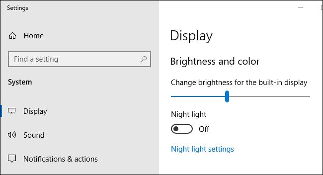 Automatically adjust brightness