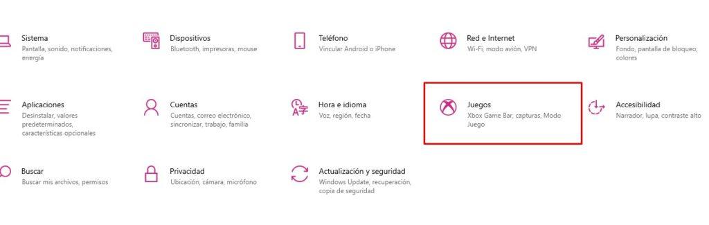 Access Windows 10 settings