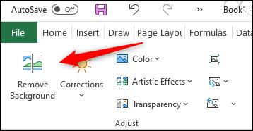 Supprimer l'arrière-plan d'une image dans Excel