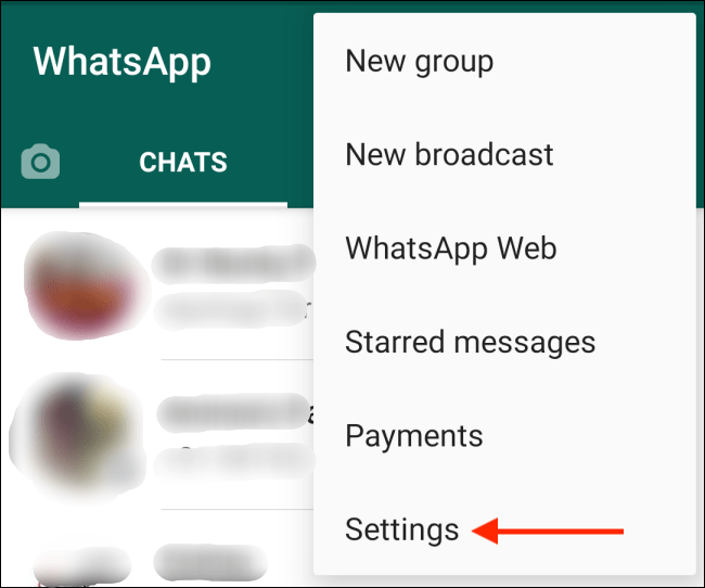 How to delete a WhatsApp account
