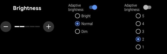 How to adjust the screen brightness of Wear OS.
