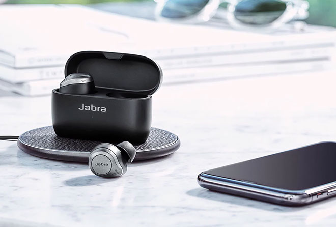 connect Jabra Elite 85t to laptops, iPhones and MacBooks