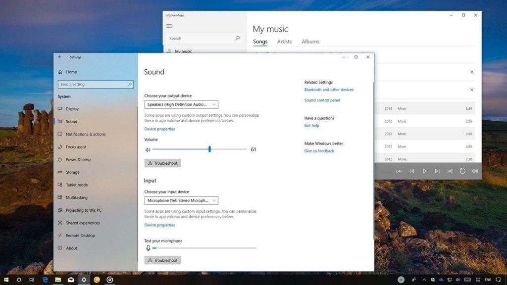 Windows volume audio call 2
