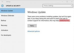 Windows-10-Update-Error-Code-0x8024a105