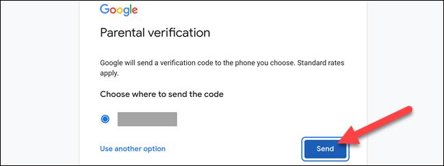 Turn on parental verification on Google TV.