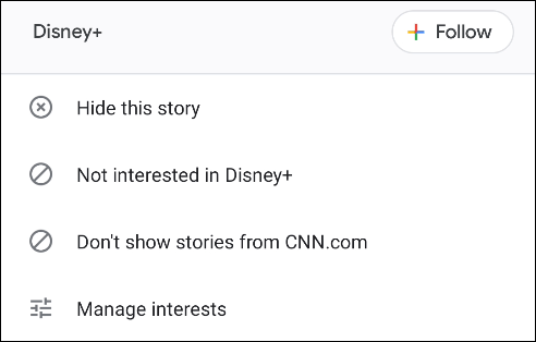 Set points of interest in Discover.