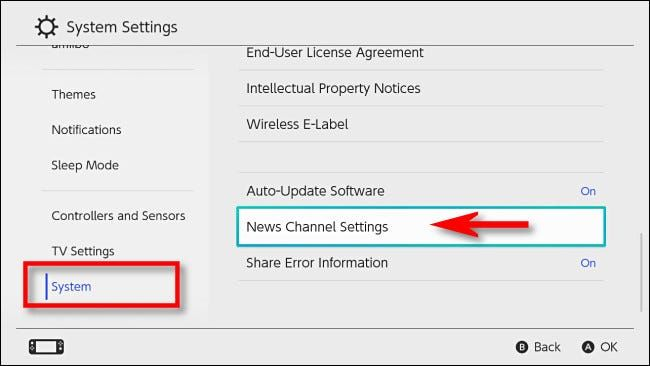 How to let Switch channels follow.