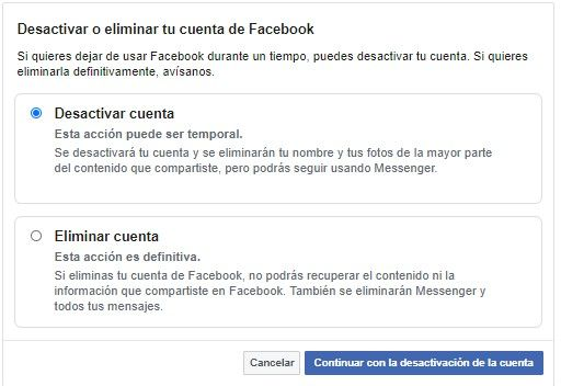 Deactivate or delete the Facebook account.