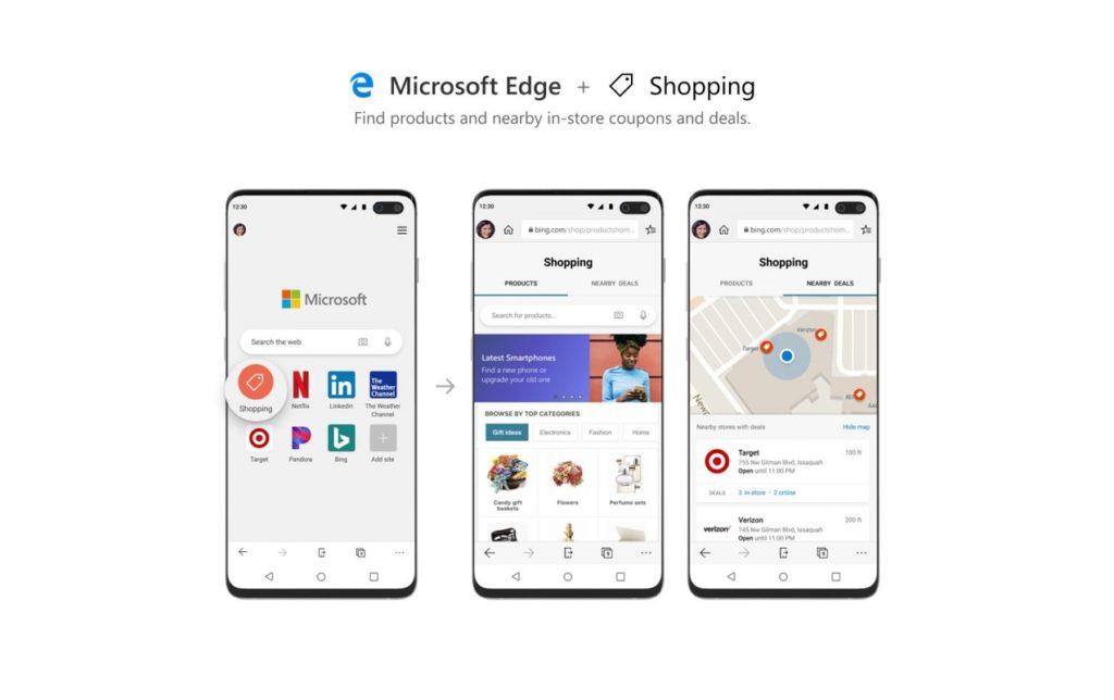 disable Microsoft Edge 3 purchases
