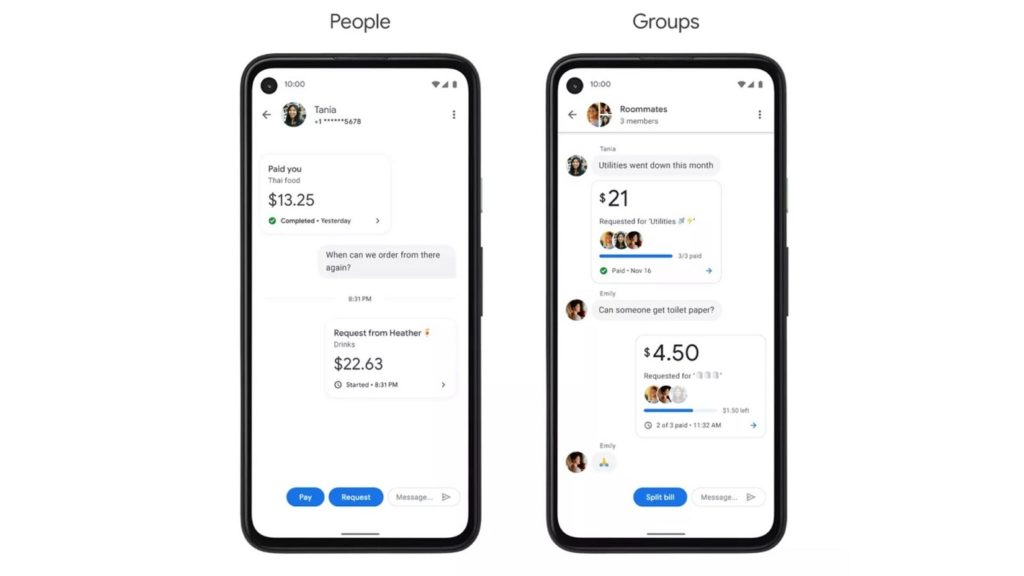 send money with Google Pay 3