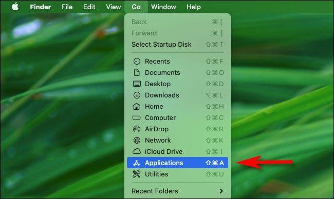 We open Mac applications.