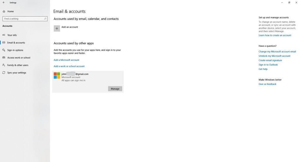 Local Microsoft Account 4
