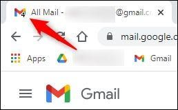 Show the Gmail emails tab