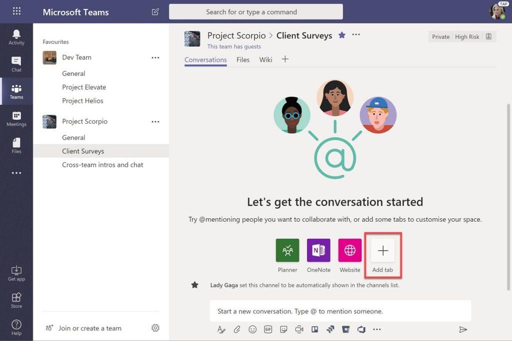 Microsoft Teams 1.5 surveys
