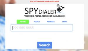 Spy-Dialer overview
