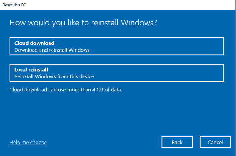 Install Windows 10 or download the latest version.