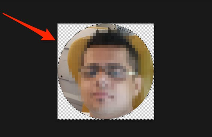 In this way, we managed to cut an image in a circle with Photoshop.