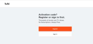 Activer Tubi-TV