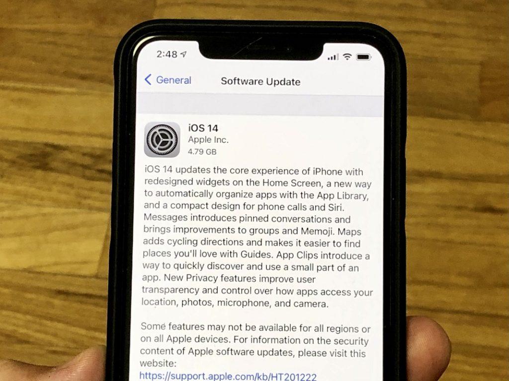 Problèmes courants iOS 14 5
