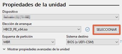 Comment installer Hirens Boot sur une clé USB amorçable à l'aide de Rufus étape 3