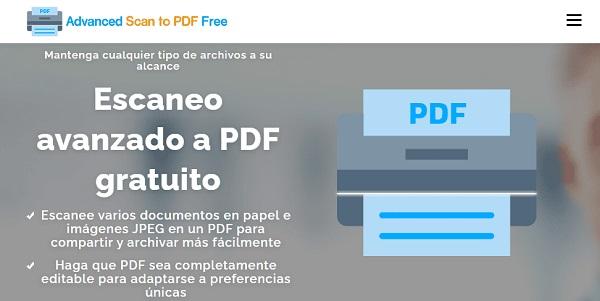 Free Advanced Scan to PDF