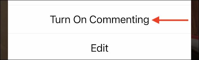 Activer les commentaires.