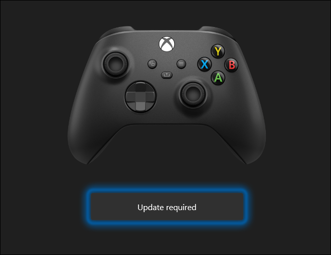 Update required.