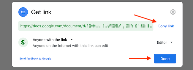 We copy the link and share it on the web.  This way we can share folders and documents in Google Drive