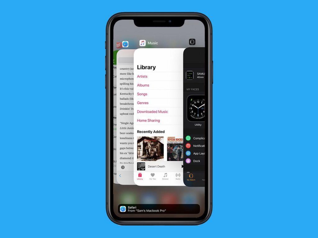 change open apps iPhone 2