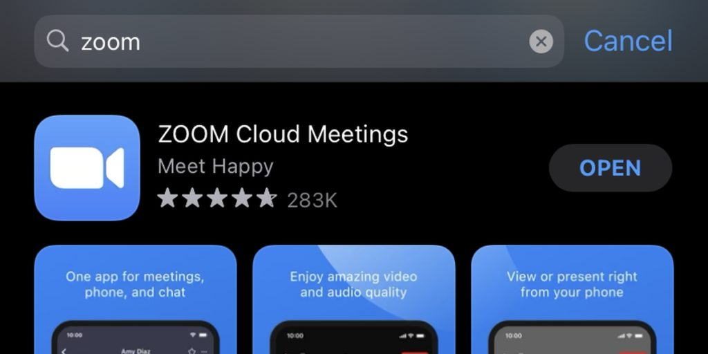 How to install Zoom on iPhone.