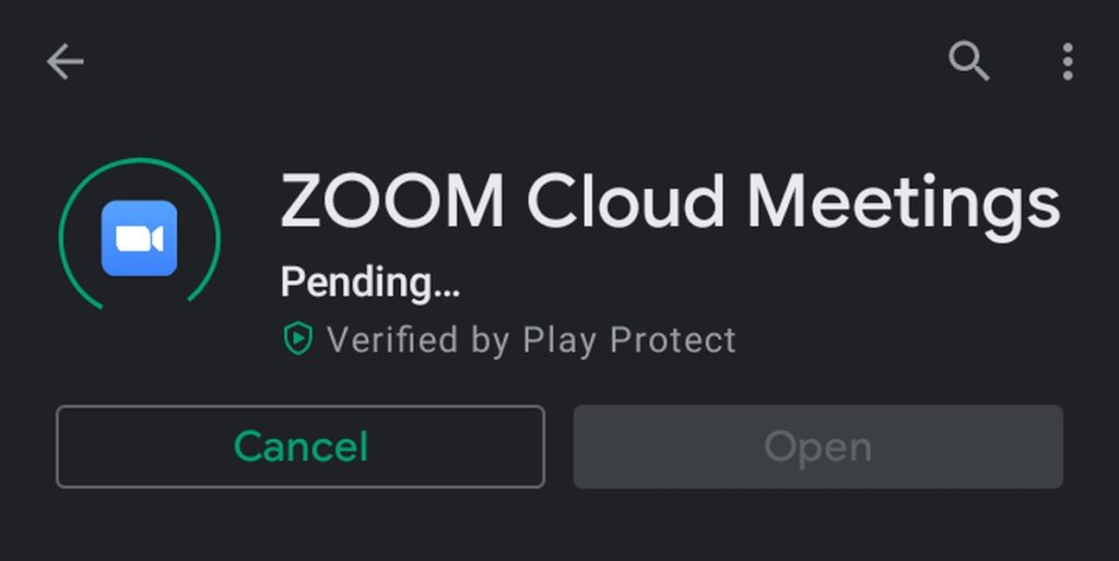 How to install Zoom on Android.