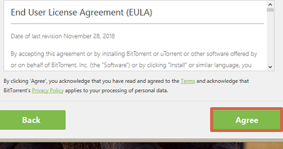 How to install uTorrent for free on your computer step 4