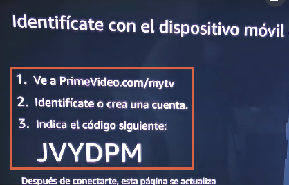 How to Watch or Watch Amazon Prime Video on Your TV from the Official App Step 3