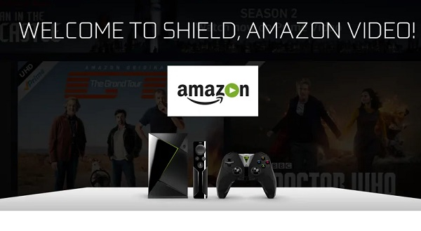 View or watch Amazon Prime Video on your TV from Nvidia Shield