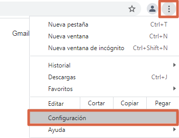 How to Block a Page or Website in Google Chrome from Settings Step 1