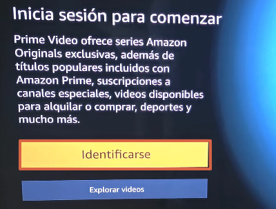 How to Watch or Watch Amazon Prime Video on Your TV from the Official App Step 2