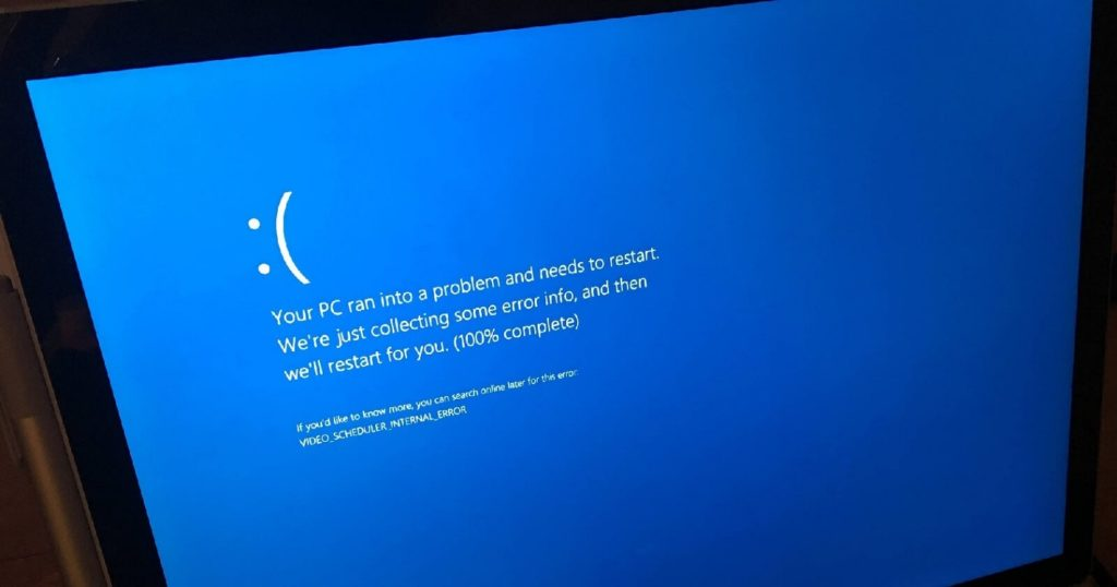 Windows 10 verrouillé 2