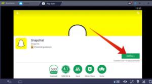 SnapChat-Télécharger-PC