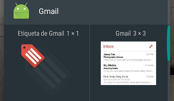 How to add widgets to verify Gmail