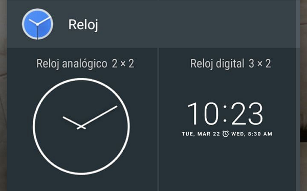 How to add widgets to see the time