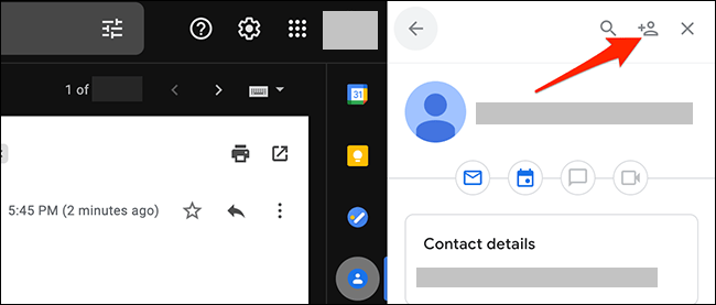Add a new contact.