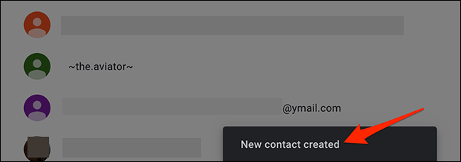 In this way we managed to learn how to add contact to Gmail